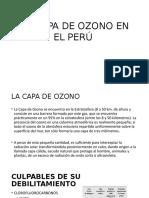 La Capa de Ozono en El Perú