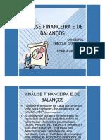 Balancos Analise Financeira