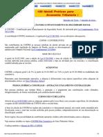 Cofins Contribuicao Para o Financiamento Da Seguridade Social_planej Tributário