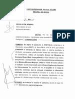 SENTENCIA DE SALA 3677-2014  CORREOS ELECTRÓNICOS - MINISTERIO DE ENERGÍA Y MINAS
