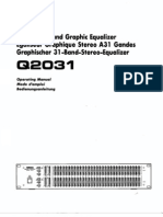 Q2031 Manual