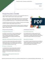 Principios Democráticos y Actividades _ Dda.deliberating