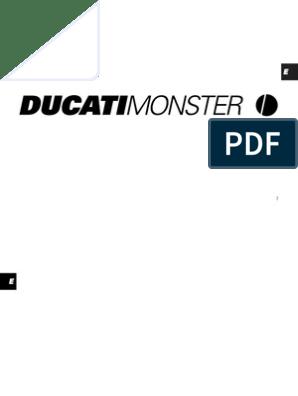 2002 ducati 900 wiring diagram ducati monster  01 owner s manual general clutch brake  ducati monster  01 owner s manual