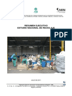 Estudio Nacional de Reciclaje