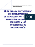 Guia Hab Radiodifusion Sonora