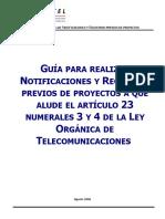 Guía Notificación y Registro