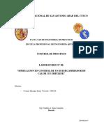 SIMULACION EN CONTROL DE UN INTERCAMBIADOR DE CALOR EN SIMULINK