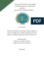 Plan de Tesis - Propuesta Sga Eaa Andahuasi Saa