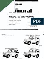 Manual Suzuki Samurai 97