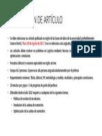Condiciones Presentación de Artículo (1)