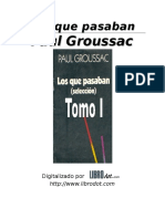 Groussac Francois Paul - Los que pasaban.doc
