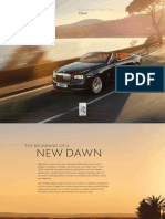 Rolls Royce Dawn Model Overview RoW