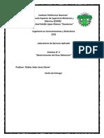 Practica N2 Determinacion de Peso Molecular