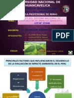 TRABAJO DE LEG. LEY N° 27446