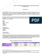 OBSERVACIÓN | Informe Seguimiento Implementación Enfoque de Género GPAZ