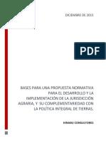 OBSERVACIÓN | Documento Lineamientos Jurisdicción Agraria