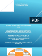 Norma Técnica Ntc Colombiana 4563