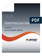 Fortinet Product Guide