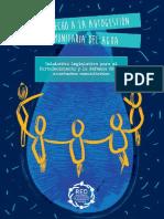 PROYECTO LEY | Acueducto Comunitarios obre Autogestión Comunitaria Del Agua