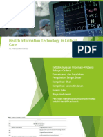 Health Information Technology in Critical Care Heru