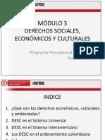 Derechos Sociales Economicos y Culturales