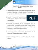 Líneas y Sublíneas de la Universidad de Guayaquil