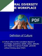 Transcultural - Pertemuan 11 - Budi - Diversity at Work