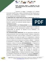 Primera Convencion Colectiva c3banica y Unitaria Hasta El 04 Feb