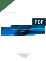 CSWIP 3.1 - Welding Inspector WIS5 (2017)