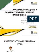 Espectroscopia Infrarroja (Ftir) y Calorimetría Diferencial