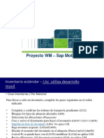Documentos Inventario sap wm