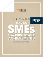 SME Bank Sustainability Report 2016