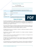 Ficha Análitica #2 (Cultura y Sociedad en America Latina) Duvan Nieto 20141372078