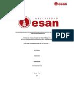 Plan de Formulación Del PCI ESAN