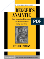 Heidegger in Tt.