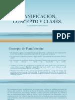 Planificacion Concepto y Clases