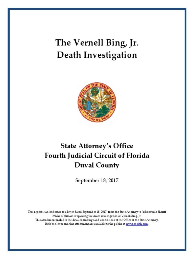 Bing Report Final 91817redacted Deadly Force Prosecutor