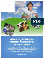 EPA Advancing Sustainable Materials Management 2014 Fact Sheet