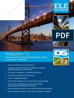 New DS7 Geotechnical Software