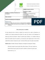 FF-REPORTE LECTURA (Diez Razones Para Ser Cientifico)