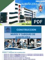 CLASE ALBAÑILERIA PROCESO CONSTRUCTIVO 2016-2.pptx