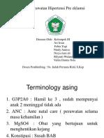 Asuhan Keperawatan Hipertensi Pre Eklamsi