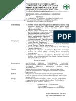 9.1.2.3 Sk Penyusunan Indikator Klinis Dan Indikator Perilaku Pemberi Layanan Klinis Dan Penilaiannya