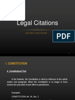 SHOW Legal Citations