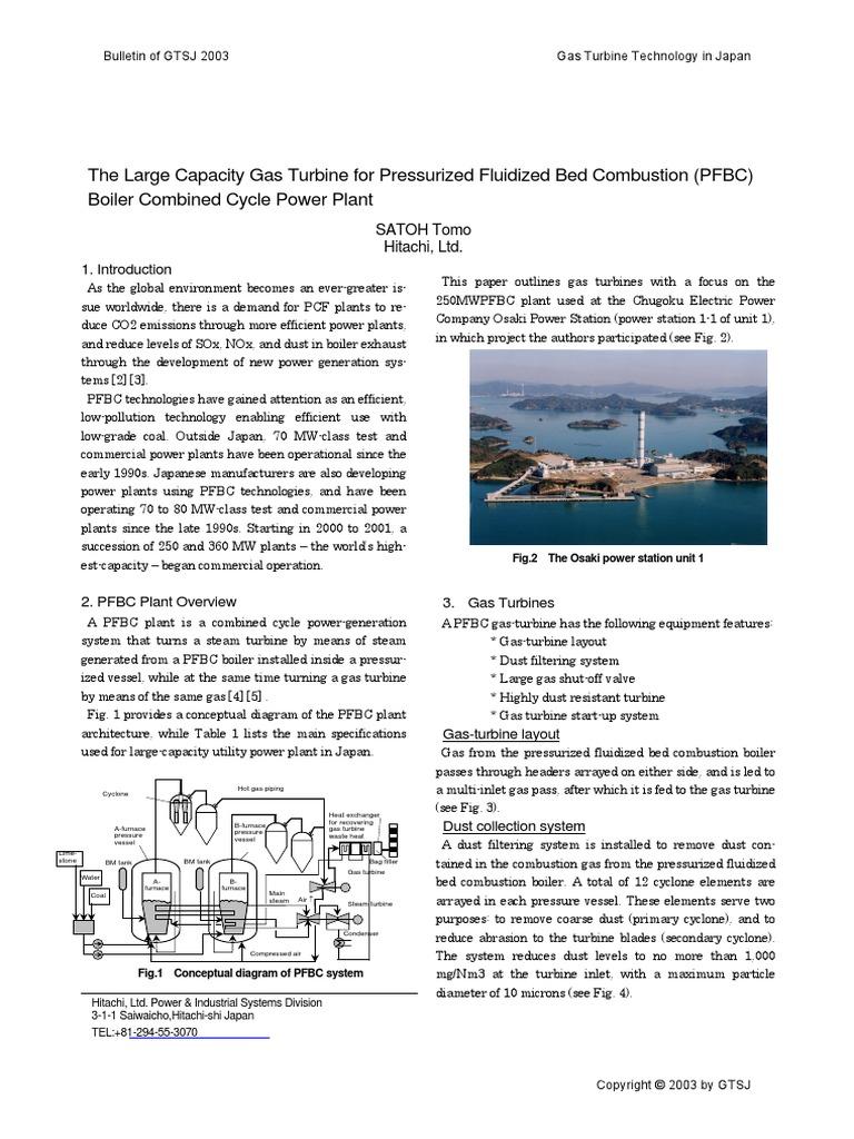 Bulletin2003 01gtt01 Gas Turbine Boiler Power Plant Diagram