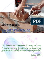 Conferencia 6. Edificar.