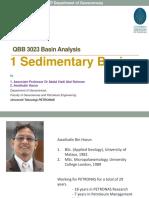 1 an Introduction Basin Analysis