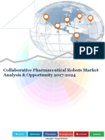 Collaborative Pharmaceutical Robots Market Analysis & Opportunity 2016-2024