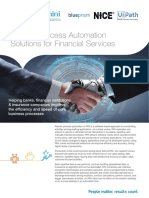 Robotic Process Automation for Fs Brochure