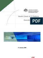 Health Check IT Platform Exec Summary